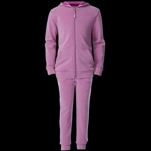 32 Degrees GIRLS FAUX CASHMERE HOODIE + JOGGER SET